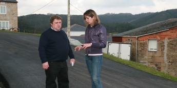 A Deputación inviste preto de 2 millóns de euros na mellora de dúas estradas de Cervo