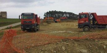 Comezaron as obras de construción da nova depuradora de Ribadeo para funcionar dentro dun ano