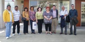 O concello de Burela recibe aos representantes da ONG peruana CEPRODE