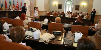 Empresarios de hostalería de España coñecen a provincia de Lugo con Km0