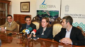 Presentaron en Lugo o servizo turistico de Feve expreso La Robla que facerá escala en Ribadeo