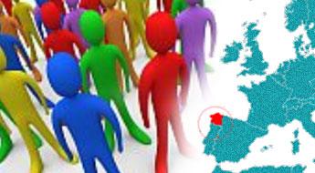 O 43,6% dos habitantes de Galicia falan máis castelán que galego e o 82,9% escribe habitualmente en castelán