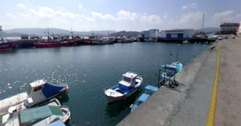 Portos instala cámaras de videovixiancia na dársena para embarcacións menores en Foz