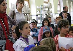 Uns 150 alumnos do CEIP de Abadin e do IES Vilar Ponte de Viveiro no Centro Didáctico de RegalXunqueira