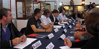 O presidente da Deputación informou a alcaldes da Mariña da reparación dos danos do temporal
