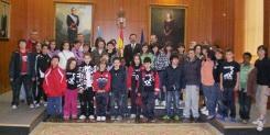Alumnos do CEIP Fondo Nois visitaron o Parlamento de Galicia
