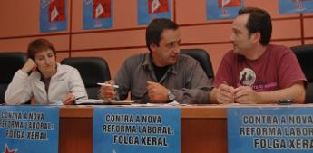 Asemblea da CIG para explicar os contidos da reforma laboral e chamar á manifestación o 17 en Lugo