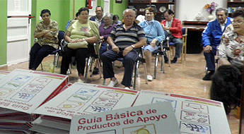 Na residencia de maiores de Burela impartiron un obradoiro para previr, compensar e neutralizar deficiencias