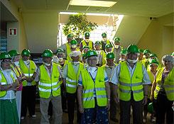 Veciños de Lourenzá e Trabada visitaron a planta de SOGAMA en Cerceda