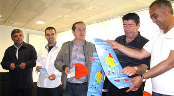 Burela acolle o IV Campus Mixto Internacional de Fútbol Base do 4 ao 17 de xullo