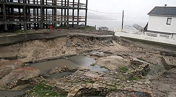 MariñaPatrimonio acusa ao concello de Cervo e ao construtor de incumprir as obrigas no castro da Atalaia