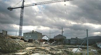 Patrimonio acordou a conservación in situ dos restos do castro da Atalaia en San Cibrao
