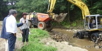 Segundo a Xunta están rematados o 95% das obras de reparación das riadas