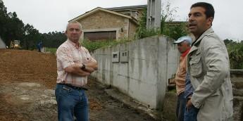 O concello de Cervo realiza obras en Viladesuso para evitar problemas con choivas torrenciais