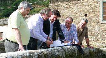 O Concello de Mondoñedo e a Deputación asinaron un acordo para rehabilitar o patrimonio histórico