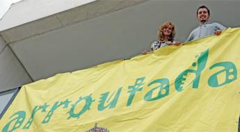 A fin de semana celebrase en San Cibrao o festival Arroutada 2010