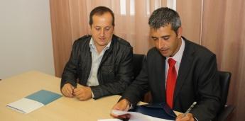 Ribadeo asinou un convenio co Deputación para rehabilitar o vello pavillón de deportes