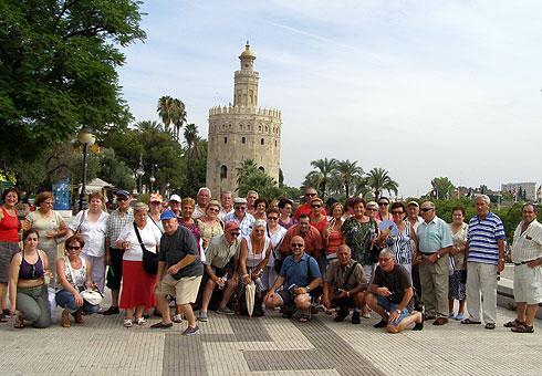 Veciños de Foz viaxan a Andalucia