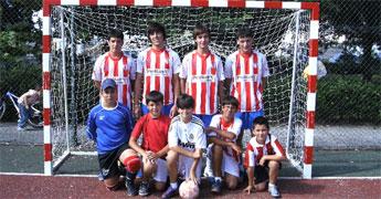 Máis dun cento de rapaces competiron no torneo de fútbol sala do Casino de Viveiro