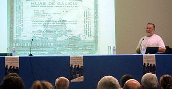 O xornalista Miguel Vila falou en Alfoz sobre a Sociedad de Valle de Oro
