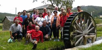 A asociación Pasada das Cabras de Burela fixo a ruta do río Rigueira e fará unha ruta nocturna a San Cibrao