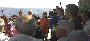 O alcalde de Ribadeo rendeu homenaxe aos percebeiros e percebeiras de Rinlo