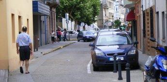 Ribadeo solicita axuda á Xunta para reparar a rúa Reinante