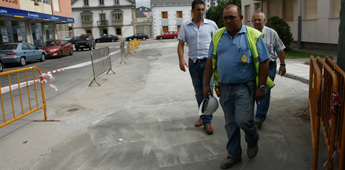 O concello de Cervo abriu ao tráfico a rúa Beiramar de San Cibrao pechada por obras