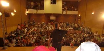 Cheo de público nas xornadas de teatro afeccionado do Valadouro
