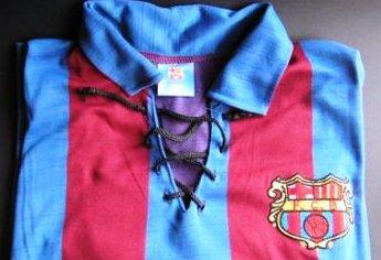 A Peña Barcelonista San Miguel prepara a edición dunha camiseta histórica