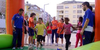Os cadros laranxas participan na Semana Europea da Mobilidade con
