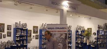 Regal Cerámica participa cun stand de 50 metros en Intergif no salón adicado ao deseño e á fantasía