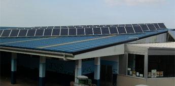 O alcalde de Burela estuda vender a enerxía excedente dos paneis solares das instalacións deportivas