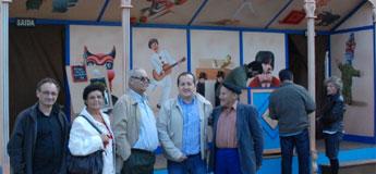 A barraca de Barriga Verde participa en Mondoñedo na animación de As San Lucas