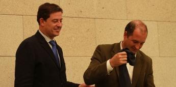 O alcalde de Burela pide á Xunta que limpe o encoro de Rúa e que se faga cargo de drogodependencias