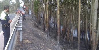 O alcalde de Ribadeo pide colaboración veciñal para localizar a quen produciu o incendio da Vilavella