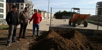O concello de Cervo inicia traballos de remodelación da pista de patinaxe de San Cibrao