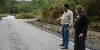 O concello de Cervo remata obras de mellora en dúas pistas da parroquia de Rúa