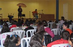 Teatro e contacontos no centro sociocultural Manuel Díaz Sampedro de Barreiros