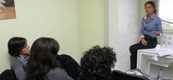 O Burela FSF participou nunha charla sobre nutrición na clínica Virxe da Mariña