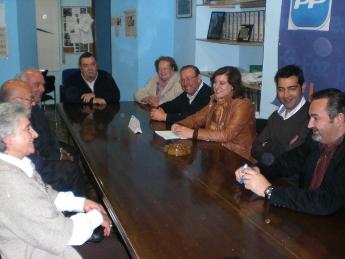 O BNG informou en San Cibrao sobre a situación da sanidade publica e chamou a manifestarse o domingo en Compostela