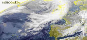 Un fenómeno adverso no mar de nivel vermello afectará ao litoral de Lugo e do noroeste da Coruña
