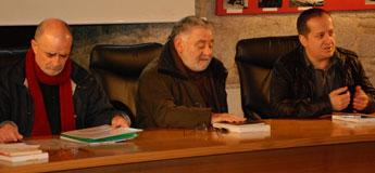Isaac Ferreira, Manuel Lourenzo e Xesús Pisón presentaron un libro sobre arqueoloxía no Valadouro