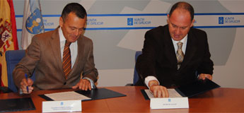 Concello de Lourenzá e a consellería de Medio Ambiente asinaron un convenio para limpar o encoro