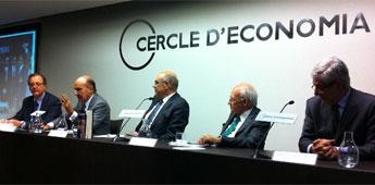 O alcalde de Ribadeo asistiu en Barcelona á presentación do libro Leopoldo Calvo-Sotelo