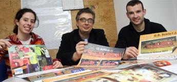 O Burela FS pon a venda o Calendario Laranxa 2011