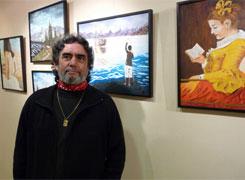 Exposición de óleos na oficina municipal de turismo en Xove