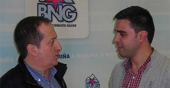 A área do BNG na Deputación destinou 20 mil euros para os clubes de Xove