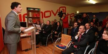 A Deputación de Lugo inaugurou o seu centro de asesoramento empresarial na sede do INLUDES
