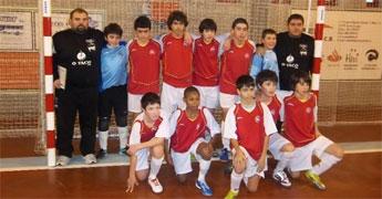 Os infantís da selección de futbol sala de A Mariña disputan o domingo en Viveiro o campionato galego
